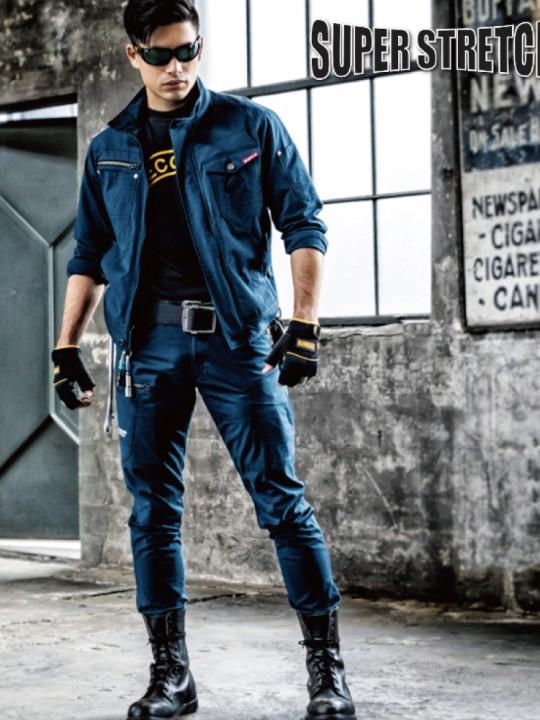 男女兼用・スタイリッシュなジャケットスタイル