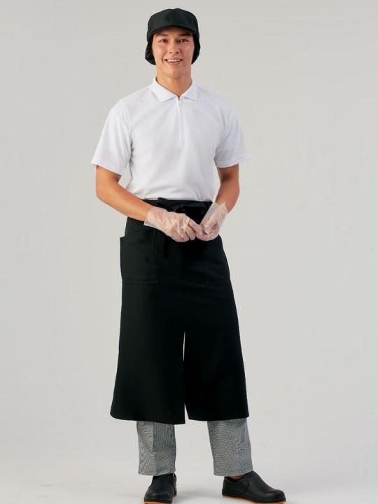 衛生的なポロシャツスタイル