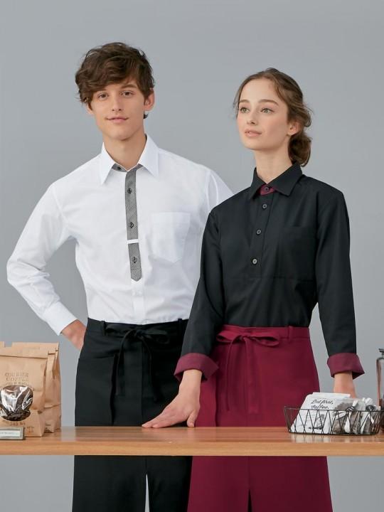 モダン&エレガントなシャツスタイル