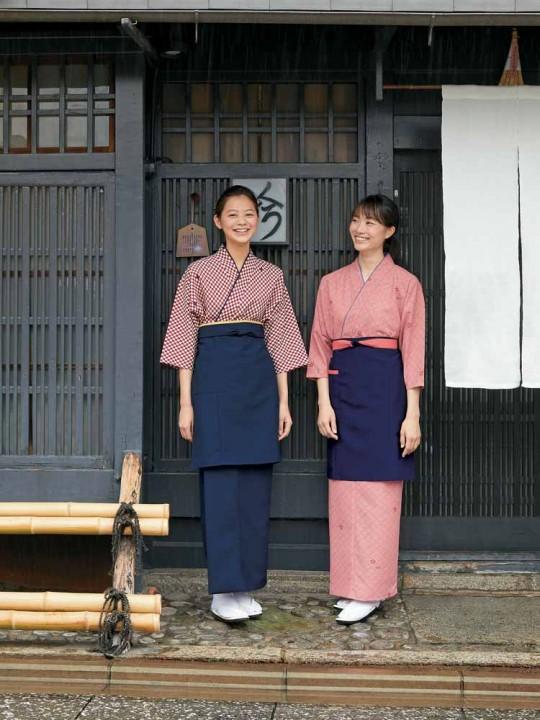 着物のように美しい茶羽織コーデ
