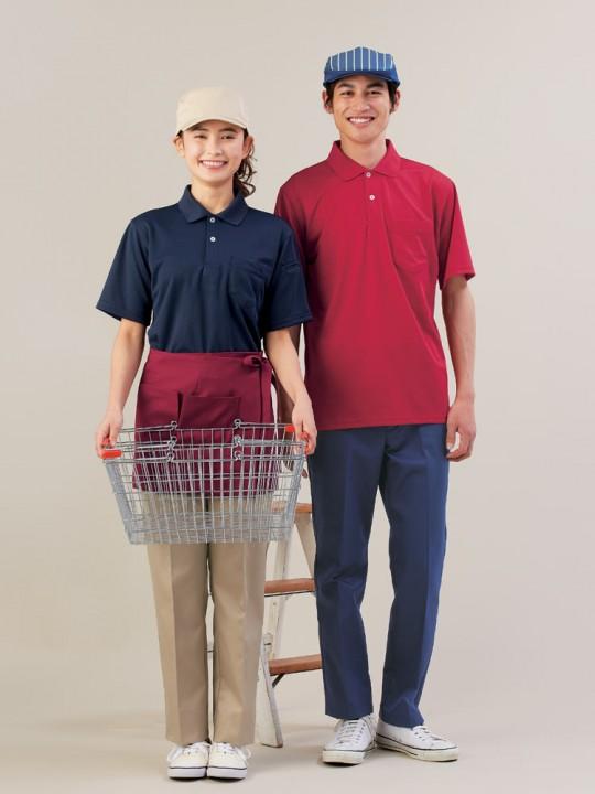 テキパキ動けるポロシャツスタイル