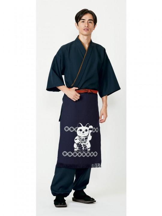 和風カジュアル定番の作務衣スタイル