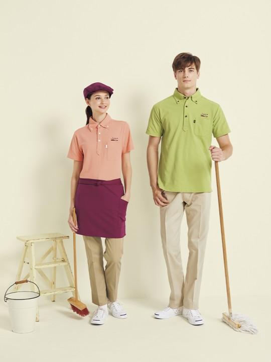動きやすくお洒落に決まるポロシャツ