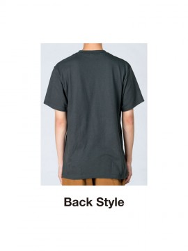 WE-00085-CVT 5.6oz ヘビーウェイトTシャツ バックスタイル