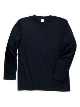 WE-00101-LVC 5.6オンス ヘビーウェイト長袖リブ無しカラーTシャツ 拡大画像