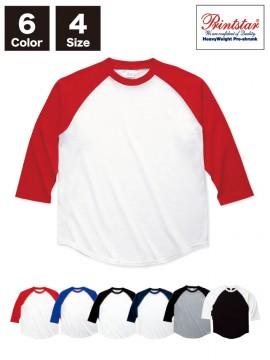 00138-RBB 5.6オンス ラグランベースボールTシャツ