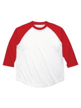 00138-RBB 5.6オンス ラグランベースボールTシャツ 拡大画像