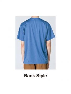 WE-00300ACT 4.4oz ドライTシャツ バックスタイル