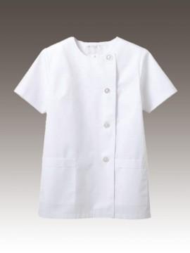 CK-1022 調理衣(半袖) 拡大画像