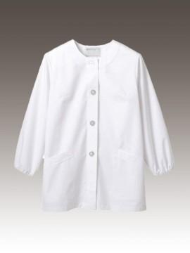 CK-1031 調理衣(長袖ゴム入) 拡大画像