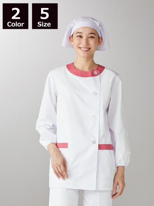 CK-1091 調理衣(長袖ゴム入)