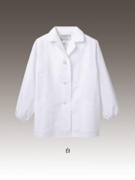 CK-1401 調理衣(長袖ゴム入) カラー一覧 白