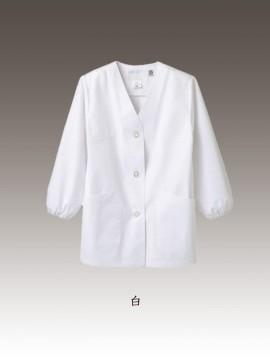 CK-1431 調理衣(長袖ゴム入) カラー一覧
