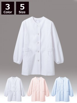 CK-1071 調理衣(長袖ゴム入)