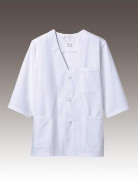 CK-1615 調理衣(7分袖) 拡大画像 制菌加工 制電加工