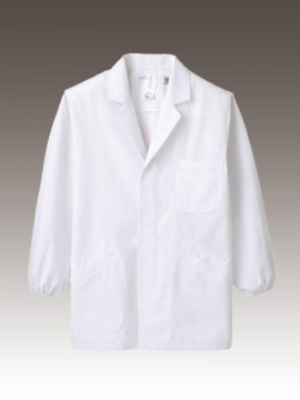 CK-1801 調理衣(長袖ゴム入) 拡大画像
