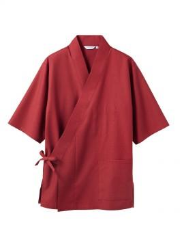 CK-3553 はっぴ(男女兼用・7分袖) 拡大画像