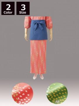 CK-7411 和風ラップスカート(レディス・腰ヒモ式) 商品一覧