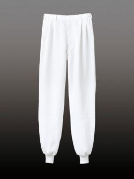 CK7471CB パンツ(男女兼用・ツータック・両脇ゴム) 拡大図