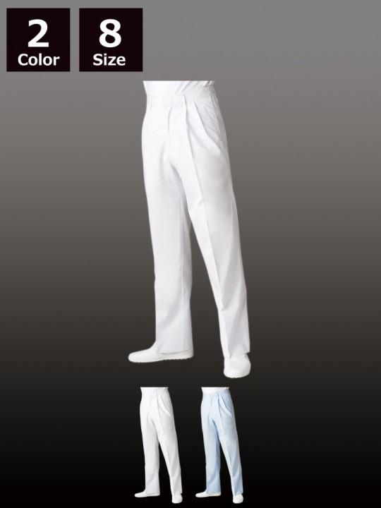 CK7655 パンツ(メンズ・ツータック・半ゴム)