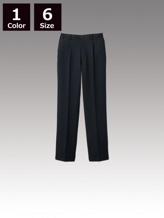 CK7901 パンツ(男女兼用・ワンタック・両脇ゴム)