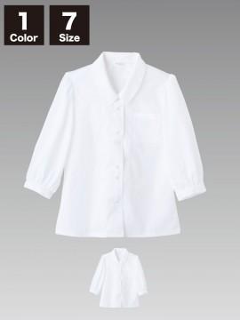 CKBS21012 ブラウス(レディス・7分袖)