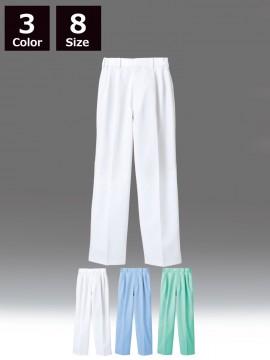 RS7511 パンツ(男女兼用・ツータック・両脇ゴム)