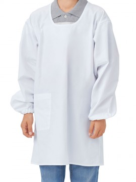 PE4012 カッポウ型給食衣(男女兼用) 拡大画像