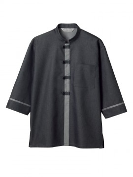 MC6951 シャツジャケット(男女兼用・7分袖) 拡大画像