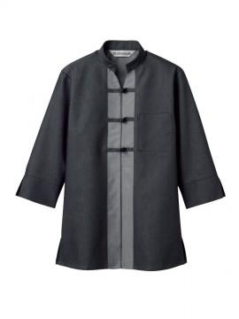 MC6961 シャツジャケット(レディス・7分袖) 拡大画像