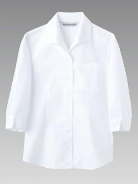 MC7211 シャツ(レディス・7分袖) 拡大画像