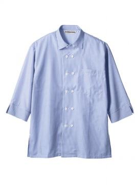 MC7351 シャツ(男女兼用・7分袖) 拡大画像