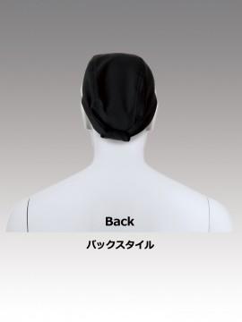 CK9261 簡易バンダナ(男女兼用) バックスタイル