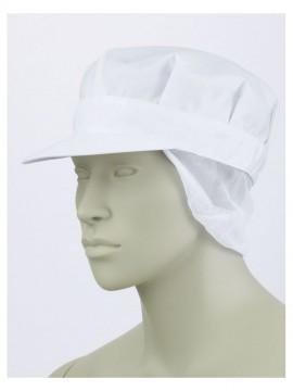 CK9623 八角帽子たれ付(男女兼用) 拡大画像