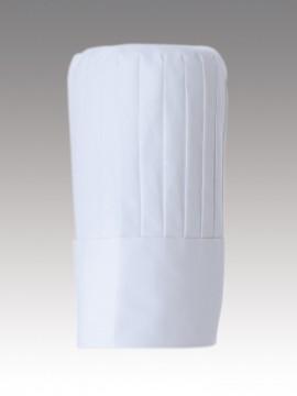 CK9631 チーフコック帽(男女兼用)高さ30cm 拡大画像