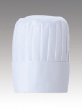 CK9634 コック帽(男女兼用)高さ20cm 拡大画像
