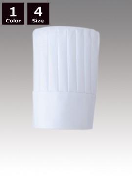 CK9635 コック帽(男女兼用)高さ25cm