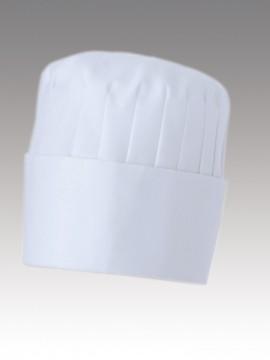 CK9636 コック帽(男女兼用)高さ15cm 拡大画像