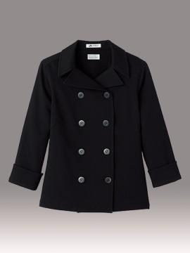 BM-FB4013L  レディスコックシャツ ブラック