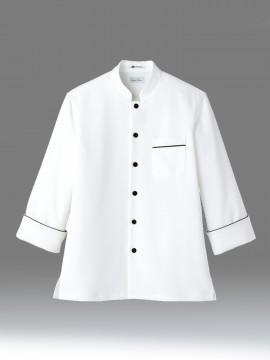 BM-FB4503U 速乾コックシャツ ホワイトコックコート