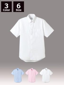 BM-FB5016M メンズ吸汗速乾半袖シャツ(メンズ・半袖) トップス 白 ホワイト