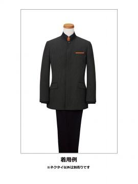 BM-FA9454 ポケットチーフ 着用例