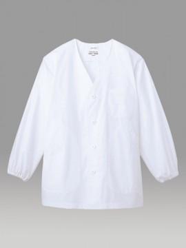 ARB-AB6400 白衣(メンズ・長袖) 拡大図