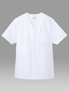 ARB-AB6402 白衣(メンズ・半袖) 拡大画像