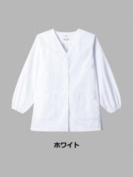 ARB-AB6403 白衣(レディス・長袖) カラー一覧