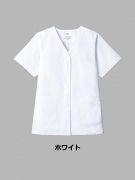 ARB-AB6405 白衣(レディス・半袖) カラー一覧