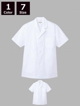 ARB-AB6407 白衣(メンズ・半袖)