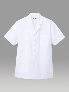 ARB-AB6407 白衣(メンズ・半袖) 拡大画像