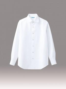 ARB-BC6910 シャツ(メンズ・長袖) 拡大画像・ホワイト