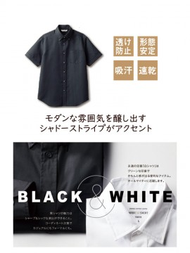 ARB-BC6919 ボタンダウンシャツ(メンズ・半袖) 特長